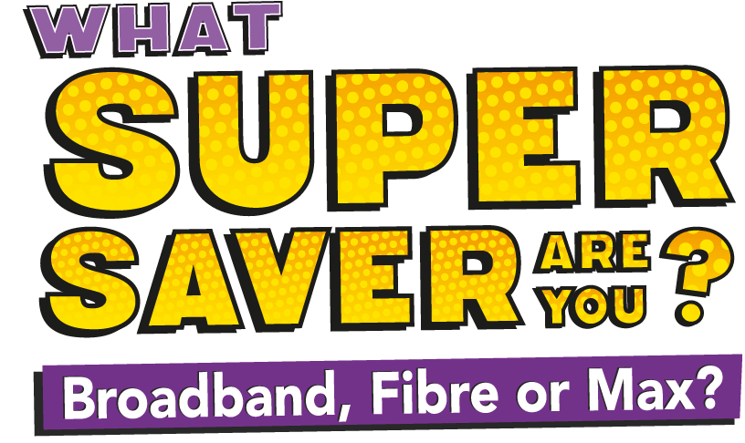 Supersaver Hero Title